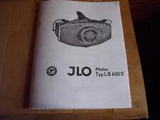 Vintage Snowmobile Polaris JLO L B 600/2 Motor Parts Breakdown Manual COPY