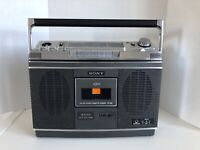 Vintage Sony Cassette Corder Model CF-580   ** Untested - No Power Cord **