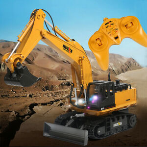 RC Excavator 1:14 Remote Control Excavator Digger Car Construction Vehicle Toy