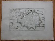De Fer: View of Nice Côte d'Azur France - 1695