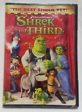 Shrek the Third (Dvd, 2007, Widescreen Version) New Sealed
