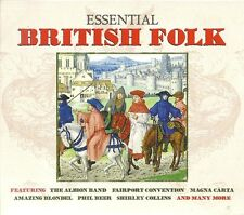ESSENTIAL BRITISH FOLK - 2 CD BOX SET - PHIL BEER, SHIRLEY COLLINS & MORE