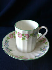 Royal Worcester English Garden  small coffee can & saucer