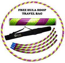 Collapsible Hula Hoop / Exercise Fitness Travel Hoops