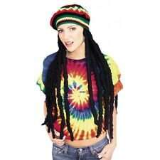 Rasta Wig With Cap Dreadlocks Dreads Costume Accessory Adult Halloween