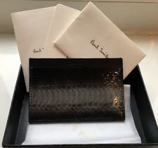 Paul Smith Leather 'Snakeskin Effect' CC Wallet BNWT RRP £130.*Fathers Day Gift*