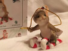 """Charming Tails """"Your Sweetness Is No Small Feet"""" Dean Griff Nib Ornament"""