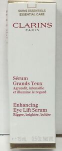 Clarins Enhancing Eye Lift Serum 0.5 OZ. New box not perfect
