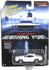 JOHNNY LIGHTNING  JLCP6001 VANISHING POINT 1970 DODGE CHALLENGER R/T 1/64 WHITE