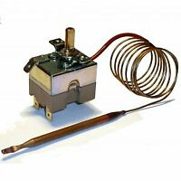 Thermostat with Capillary Tube 20-210°C Temperature Control 1.0m Universal