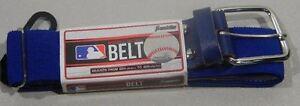 "Franklin MLB Baseball/Softball Adjustable Elastic Belt 22""-42""Major League Blue"