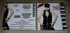 Madonna - CD Bad (VS Michael Jackson and others) RARE FAN EDITION - 13 Remixes