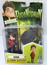 """New Norman Paranorman Sdcc Comic Con Exclusive Hand Base 4"""" Action Figure 6+"""