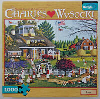 jigsaw puzzle 1000 pc Love Tennis Club Wysocki Americana Buffalo Games