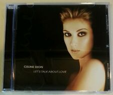 LET'S TALK ABOUT LOVE by CELINE DION (CD, 1997 - USA - 550 Music) Very Good!!!