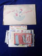 COMMUNITY SHOWER SERVICE NEW BABY PACKET VINTAGE COUPONS HEINZ INSTANTINE CANADA