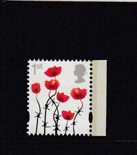 GB 2016 CENTENARY of the 1st WORLD WAR POPPY 1st CLASS BOOKLET STAMP MNH ex DY18