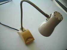 Vintage Retro Mid Century Tensor-style flexible gooseneck DESK LAMP, with bulbs.