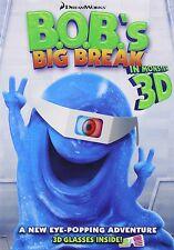 B.O.B.'S BIG BREAK (In 3D)  -  DVD - REGION 1 - Sealed