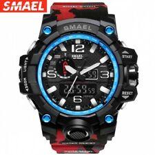 USA STOCK! SMAEL Watch Digital LED Electronic Wristwatch Quartz Military Watches