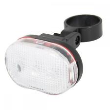 ETC White Bright 3 LED Front Bike Seatpost Clamp Light, Battery Operated Ela100f