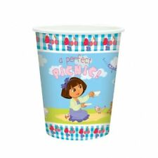 8 Dora the Explorer Party Celebrations Paper Cups Tableware