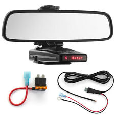 Mirror Mount Bracket + Direct Wire + ATO Add a Circuit for Escort 9500ix