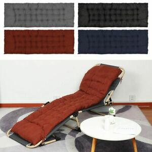 Decoration Sofa Sun Lounger Outdoor Bench Pad Recliner Chair Seat Cushion