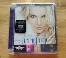 Britney Spears Femme Fatale Tour DVD Jewel Case Walmart Rare Glory Piece of me
