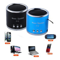 Portable Micro SD TF Card USB Mini Stereo Music Player FM Radio MP3/4/5 Speaker