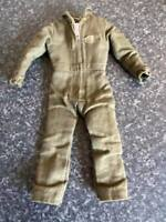 VINTAGE PALITOY/HASBRO ACTION MAN AIRFORCE JUMPSUIT WITH ZIP VERY GOOD FOR AGE