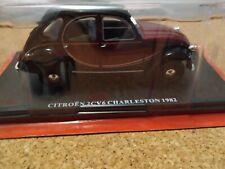 Hachette Voiture 1/24 Citroën 2cv 6 Charleston 1982