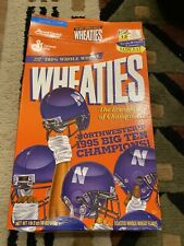 Wheaties Northwestern 1995 Big 10 Champions Box