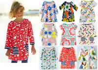Mini Boden girls cotton jersey hotchpotch print tunic top dress NEW ages 1 - 12