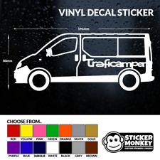 Traficamper-Renault Trafic Camper/Day Van, Vinyle Décalque Sticker – any colour!