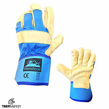 x2 Pairs Himalayan H300 Quality Leather Canadian Rigger Gloves Docker Gloves PPE