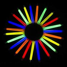 I33, 25 Pcs 6 Inches Assorted Premium Glow Sticks, Wand, Cool Fun Light Up Party