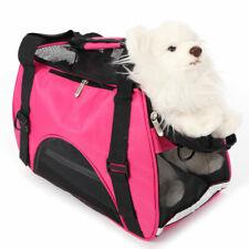 Pet Cat Dog Carrier Bag Breathable Hollow-out Travel Kennel Handbag Puppy Bag