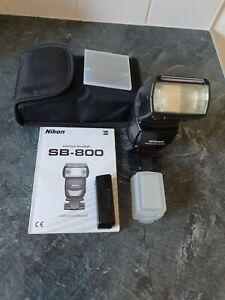 Nikon SB-800 Speedlight I-TTL Flash
