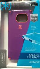 Speck CandyShell Case For Samsung Galaxy S7 Revolution Purple Orange NEW