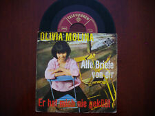 Frühe Single von Olivia Molina im Originalcover auf Telefunken