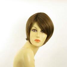 Perruque femme courte châtain clair doré ALINE 12