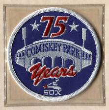 1985 CHICAGO WHITE SOX COMISKEY PARK 75TH YEAR MLB BASEBALL PATCH LOST TREASURES