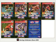 2001 Teamcoach Trading Cards Promotion Team Set Adelaide (7)