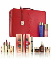 Este Lauder Beauty Essential Complete Cool Collection 12Pc with Train Case NIB
