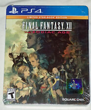 Final Fantasy XII: The Zodiac Age Limited Steel Book PS4 BRAND NEW