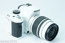 PENTAX Pentax K K-x 12.4 MP Digital SLR Camera - (Kit w/ DAL 18-55mm Lens)