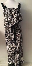 NWT ETRO Auth Black White Stretch 100% Silk Multicolor Dress Belt Sz 46 US 10 8