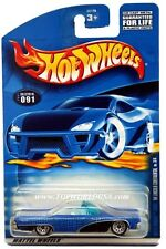 2001 Hot Wheels #91 Hippie Mobiles '64 Lincoln Continental