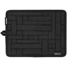 """COCOON CPG7BK 9.25""""H x7.25""""W Grid-It Organizer for pen,notepad,cellphone,charger"""